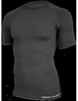 Tee-shirt M.courtes Technical Line NOIR