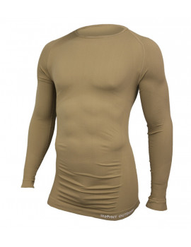 Tee-shirt Technical M.longues col rond Coyote