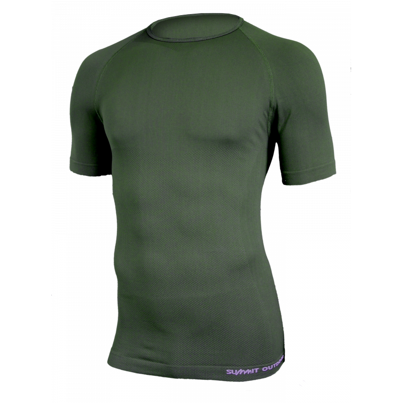 TS manches courtes Technical line Vert OD