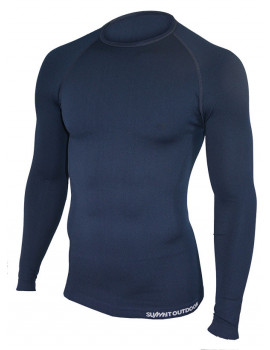 Tee-shirt technical line bleu marine