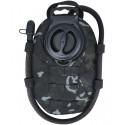 Vêtements techniques première peau: Tour de cou multifonctions micro aéré. Noir